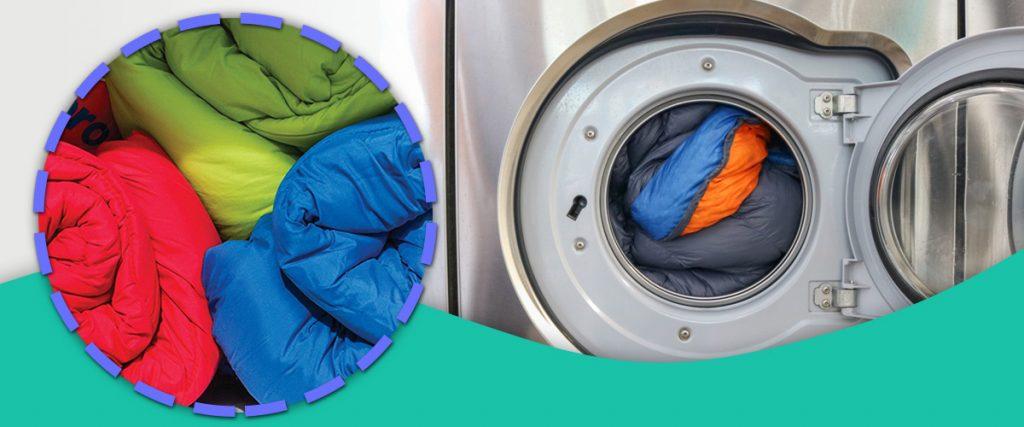 نحوه شستشوی کیسه خواب با ماشین لباسشویی